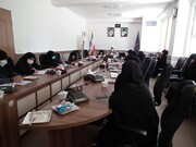 تصاویر/ نشست مدیران مدارس علمیه حوزه خواهران آذربایجان شرقی