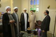 دیدار نمایندگان آیت الله اعرافی با حجت الاسلام والمسلمین موسوی تهرانی