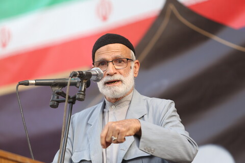 مراسم بزرگداشت امام خمینی (ره) در مدرسه علمیه فیضیه