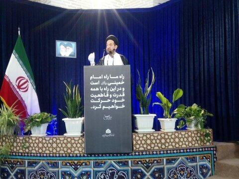حجت السالام سید حمید روحانی در قزوین