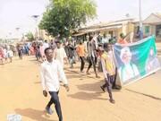 استمرار تظاهرات در نیجریه برای آزادی شیخ زکزاکی +تصاویر