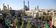 مراسم یوم الله ۱۵ خرداد در مدرسه فیضیه برگزار شد