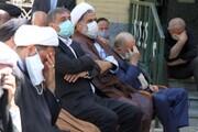 تصاویر / مراسم شهادت امام صادق(ع) در حوزه علمیه همدان