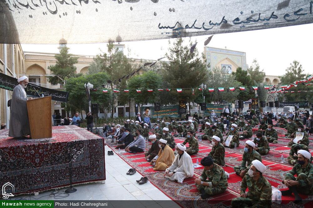 تصاویر / مراسم گرامیداشت قیام خونین ۱۵ خرداد در مدرسه علمیه فیضیه