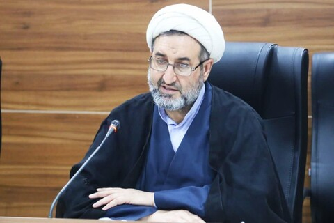 حجت الاسلام و المسلمین بهرام پور ، مدیر حوزه علمیه خوزستان