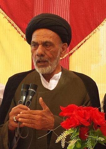 حجۃ الاسلام والمسلمين مولانا سيد سركار حيدر نجفي