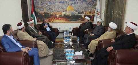 شیخ حسان عبد الله و زیاد نخاله - تجمع علمای مسلمان لبنان