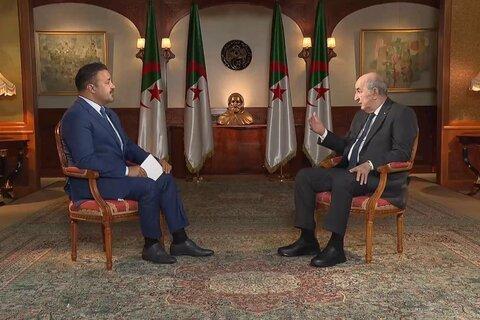 عبد المجید تبون رئیس جمهور الجزایر
