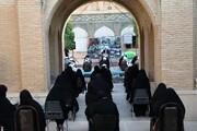 تصاویر  گردهمایی مبلغین قرارگاه عمار در مدرسه علمیه منصوریه شیراز