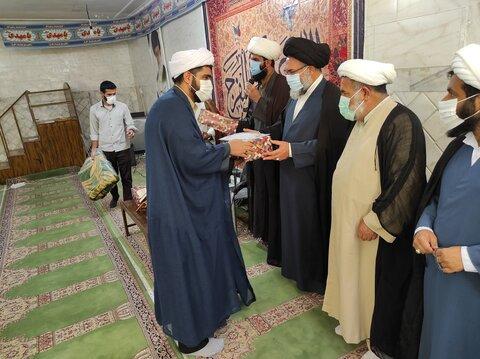 تجلیل از نفرات برتر مدرسه علمیه  علی بن موسی الرضا علیه السلام یاسوج