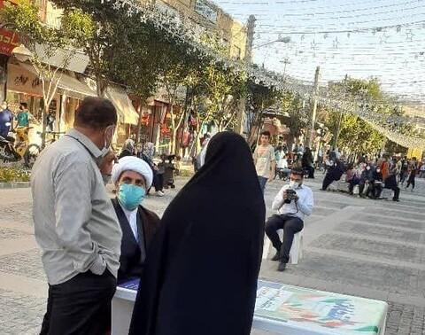افزایش شور انتخاباتی با حضور میدانی امامان محله
