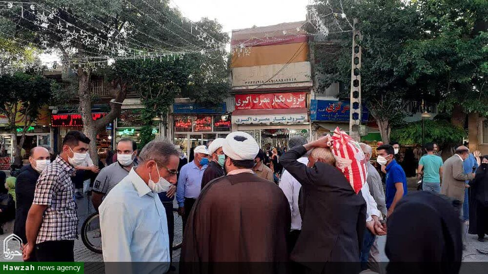 افزایش شور انتخاباتی با حضور میدانی امامان محله + عکس