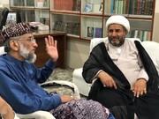 علامہ عارف حسین واحدی کی صاحبزادہ ابوالخیر محمد زبیر سے ملاقات،امت کے بین الاقوامی اور بین الملکی مسائل پر گفتگو