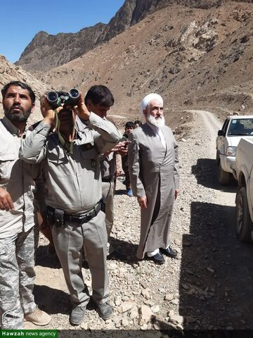 بالصور/ ممثل  الولي الفقيه في مدينة كاشان يتفقد المنطقة المحمية  لقمصر وكامو