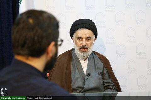 بالصور/ اجتماع لمناقشة حوار الانتخابات الإيرانية في وكالة أنباء الحوزة بقم المقدسة