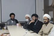 تصاویر/ نشست شورای هماهنگی نهادهای حوزوی کردستان