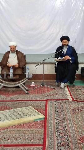 بازدید مدیر حوزه علمیه خوزستان از مدارس علمیه خرمشهر و آبادان