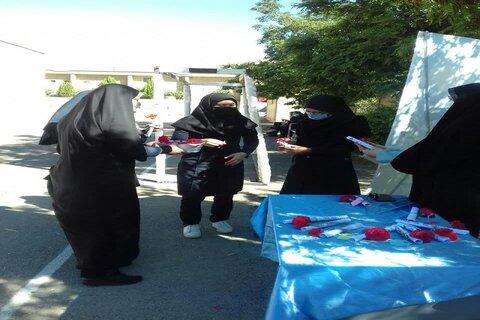 اعزام مبلغین حوزه علمیه خواهران تویسرکان به مدارس دخترانه