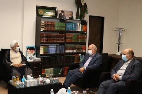 دیدار نماینده ولی فقیه در استان هرمزگان با معاون وزیر ورزش