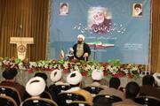 گزارشی از همایش انتخاباتی «روحانیون دیار حاج قاسم»