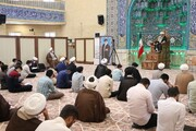 تصاویر/ درس اخلاق حجت الاسلام والمسلمین راشد یزدی