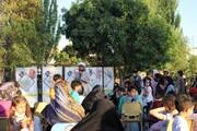 تصاویر/ فعالیت گروه تبلیغی راوی در پارک های تبریز