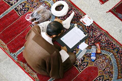 تصاویر/آزمون ورودی مجتمع فقه، حقوق و قضایی اسلامی