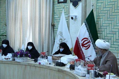 دیدار مدیر حوزههای علمیه خواهران با مدیر جامعهالزهرا(س)