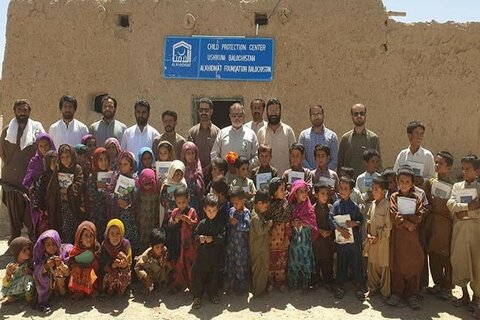 الخدمت فاؤنڈیشن کا بلوچستان میں نئے چائلڈ پروٹیکشن سنٹر کا افتتاح