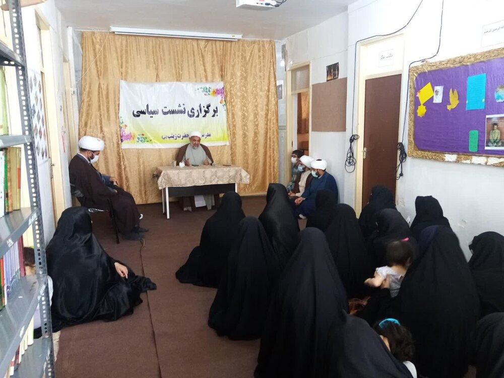 تصاویر/ جلسات بصیریتی مدیر حوزه علمیه استان ایلام در شهرستان مهران
