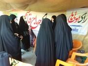 تنور داغ انتخابات در فضای شهر با حضور فعالانه بانوان همدانی