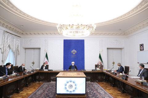 رئیس جمهور در جلسه روسای کمیته های تخصصی ستاد ملی مقابله با کرونا