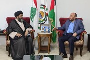 علامہ ڈاکٹر شفقت شیرازی کی حماس کے رہنما احمد عبدالہادی سے ملاقات
