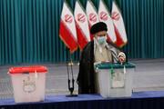 بالصور/  مشاركة الإمام الخامنئي في الانتخابات الرئاسية وانتخابات المجالس الإسلامية للمدن والقرى