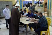 حضور مردم لرستان در پای صندوق های رای