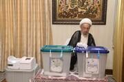 تصاویر/ شرکت مراجع و علما در انتخابات ۱۴۰۰