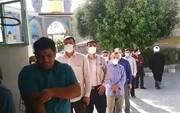 فیلم | شور انتخاباتی در مسجد دو طفلان مسلم منطقه نیروگاه قم