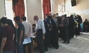 فیلم | حضور پرشور مردم در پای صندوق های رأی