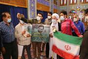 تصاویر/ حضور حماسی یزدیها در انتخابات ۱۴۰۰