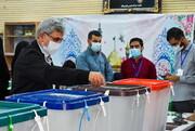 شرکت شخصیت ها و چهره های سیاسی در آزمون سرنوشت   همه برای ایران قوی آمدند