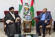 अल्लामा डॉ. शफ़क़त शिराज़ी की हमास के नेता अहमद अब्दुल हादी से मुलाक़ात