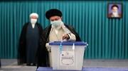 आयतुल्लाह ख़ामेनेई ने अपने मताधिकार काइस्तेमाल कर जनता से की वोटिंग की अपील