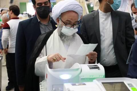 تصاویر/ حضور علمای خوزستان در سیزدهمین دوره انتخابات ریاست جمهوری