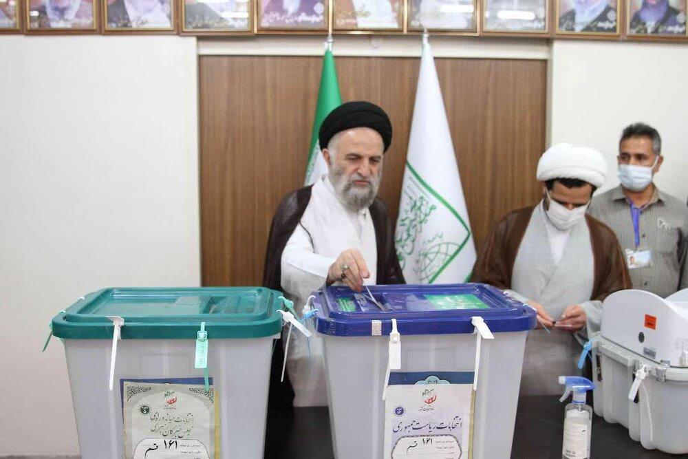 شرکت اعضای جامعه مدرسین در انتخابات ۲۸ خرداد