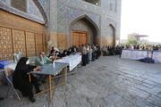 تصاویر/ مشارکت پرشور مردم اصفهان در انتخابات ۱۴۰۰