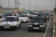 فیلم | کاروان خودرویی جشن انتخابات در قم