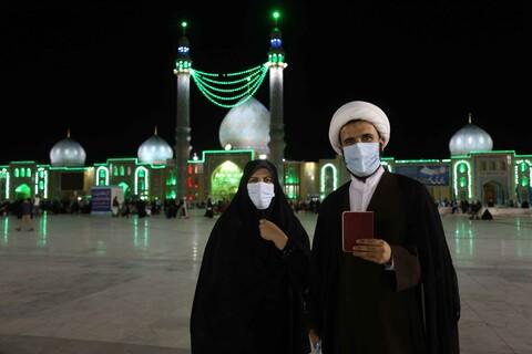 تصاویر/ آخرین ساعات انتخابات ۱۴۰۰ در مسجدمقدس جمکران