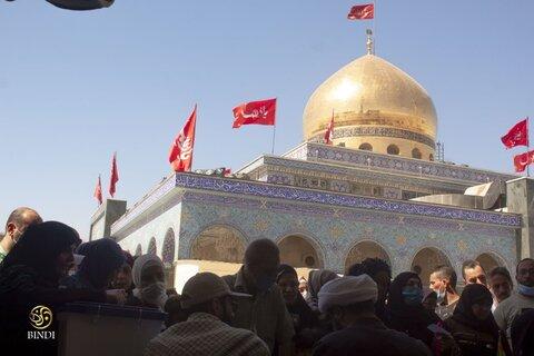 تصاویر/ اخذ رأی در حرمهای حضرت زینب(س) و حضرت رقیه(س)