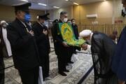 تصاویر / دیدار خادمان حرم رضوی با آیت الله ناصری یزدی