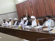 تصاویر/ وفاق المدارس الشیعہ پاکستان کے مرکزی کابینہ کا یکساں قومی نصاب، وقف املاک کے عنوان سے اجلاس